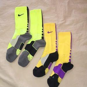 Nike hyperelite socks. Size M.